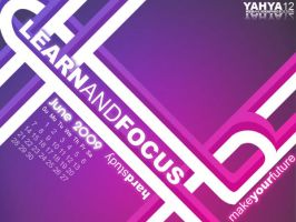 June Calendar-Learn_and_focus by yahya12
