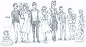Miss Peregrine's Home for Peculiar Children by MoonriverJL