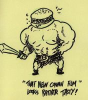 BURGER CONAN by sketchxj