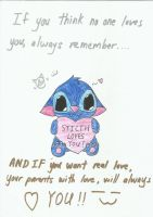 Stitch the Cat loves youu by NightWolfStarYT