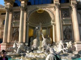 STOCK Caesar's Palace by EscapeFromWonderland