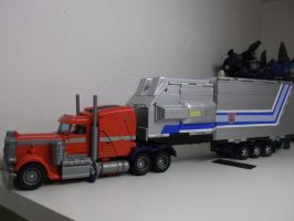 Custom Optimus Prime by forever-at-peace