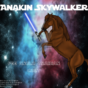 Anakin Skywalker by BrokenAngel98