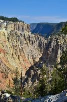 Grand Canyon of the Yellowstone by ChaosWolfPictures
