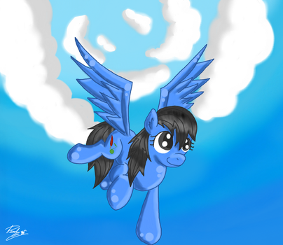 Flying Jacky by Pearl2701
