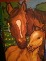 Painted Horses by MissWickedCreationz