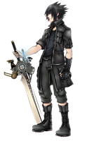 Noctis Lucis Caelum by REALzeles