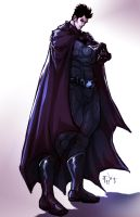 Bruce Wayne is The Batman by ErikVonLehmann