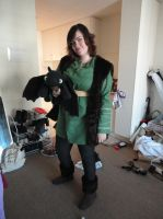 Fem! Hiccup Cosplay by valaina-williams