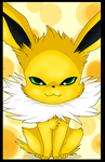 Cute Jolteon by Anais-thunder-pen68