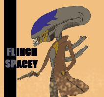 Flinch Spacey The Xenomorph by ChristoMan