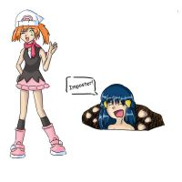 Imposter - Misty by EbilBunnyArmy