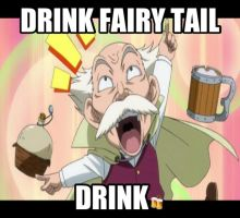 Drink Fairy Tail by dinochickrox