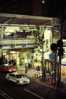 Nakameguro Station Tokyo 2 by NicoFX