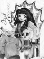 Jack Sparrow by Anusan88