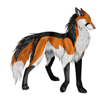 Fox kiriban by MinzyKat