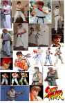Ryu Cosplay Collage by IronCobraAM