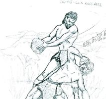 Cain and Abel by captblitzdawg