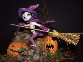 Guild Wars 2- Halloween Diorama by BlueEveningstar