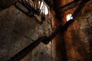 stairs out of the dark by KunstRitter