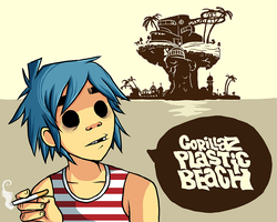 Still on that Plastic Beach Hype by Sharezii