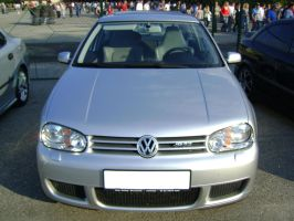 Silver Golf 4 Tunned Front by CmacSTI