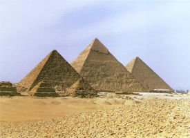 Egypt: Pyramids by Moon-Goddess18