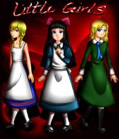 :Viola, Aya, Mary: Innocent Until The End by Bunnairry