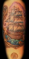 Baby Clipper by Shannon Wages by blackbirdtattoo