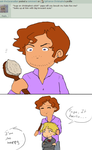Question: brushing hair by 2pFrance-Christophe