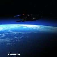 NX-01 Boldly Going by KnightTek