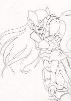 ZeroxCiel :unfinished: by TheGalacticKat