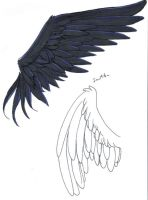 Tattoo Wings by InuMitsu