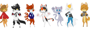 K.K.C. Cats by Hawst-r