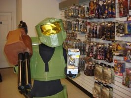 Master Chief goes shopping 3 by Gubreez