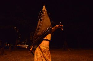 Female Pyramid Head by Dawnbringer747
