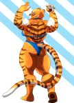 Tigress pose colored by the-Sleuth