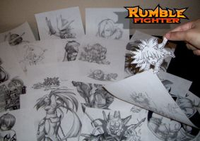 Rumble Fighter :Shoe Shoe by Darkness1999th