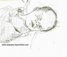 Infant Sleeping by M-J-Gagne