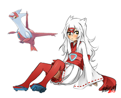 PA: Latias!Sakura by ThatlooserLulu