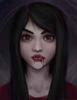 Marceline the Vampire Queen by thirteenthangel