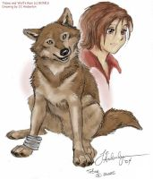 Toboe from Wolf's Rain by WolfWhiskers