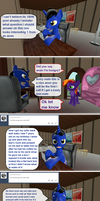 Ask True Blue tumblr 100 by Out-Buck-Pony