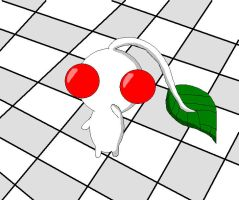 White Pikmin by LittleYellowPikmin