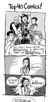Top 40 Comics - You Don't Know You're Beautiful by BrendaHickey