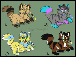 Chibi Pup Adoptables 05 [AUCTION - OPEN - 1 LEFT!] by DarkWolf9875