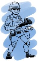 TF2 Genderswap: Engineer by jinxville