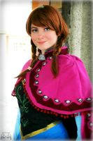 Anna- Princess of Arendelle by Whimsical-Angel