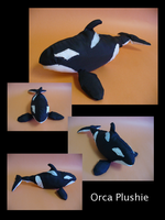 Orca Plushie by Gordorca