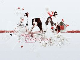 [Wallpaper] 131224 Merry Christmas by TrangMelody
